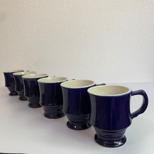 Vintage Vertex China Stackable Mugs
